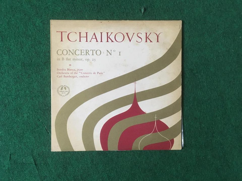 クラシック 協奏曲10インチ5枚セット  画像