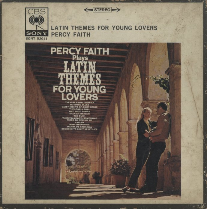 latin themes for young lovers パーシー フェイス管弦楽団 hifi do