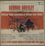 PIANO ITALIANO・POPULAR PIANO CONCERTOS OF FAMOUS FILM THEMES/GEORGE GREELEY