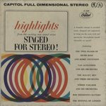 HIGHLIGHTS STAGED FOR STEREO!