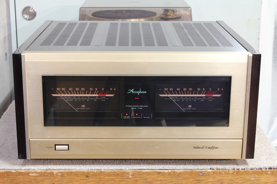 P-800 Accuphase アキュフェーズ パワーアンプ(トランジスター) 画像a