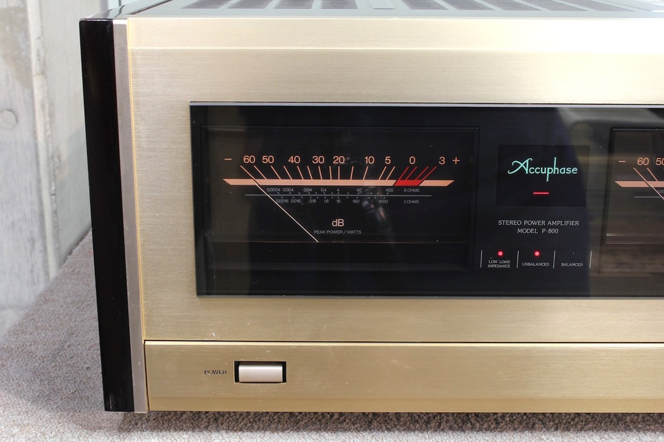 P-800 Accuphase アキュフェーズ パワーアンプ(トランジスター) 画像e