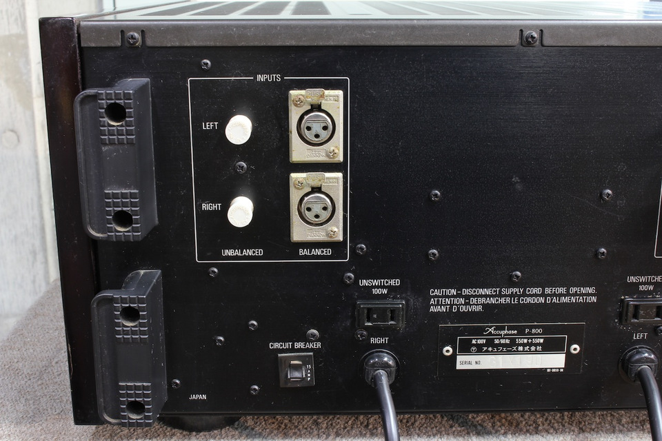 P-800 Accuphase アキュフェーズ パワーアンプ(トランジスター) 画像i