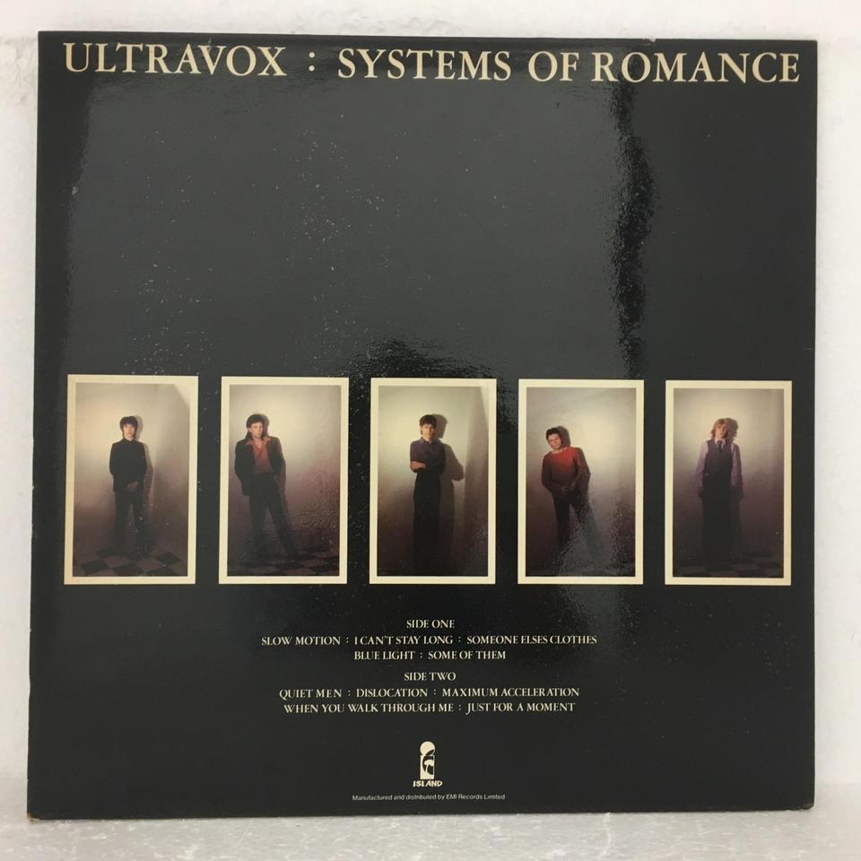 SYSTEMS OF ROMANCE/ULTRAVOX - HiFi-Do McIntosh/JBL/audio