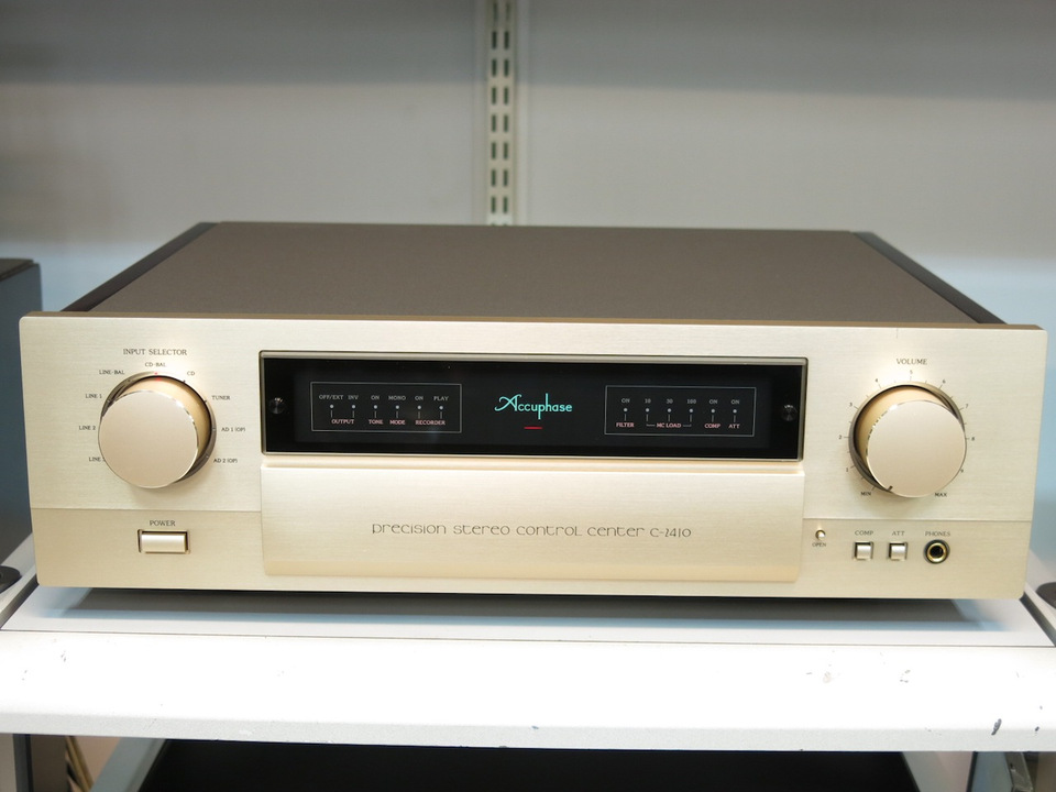 C-2410 Accuphase アキュフェーズ コントロールアンプ(トランジスター) 画像a