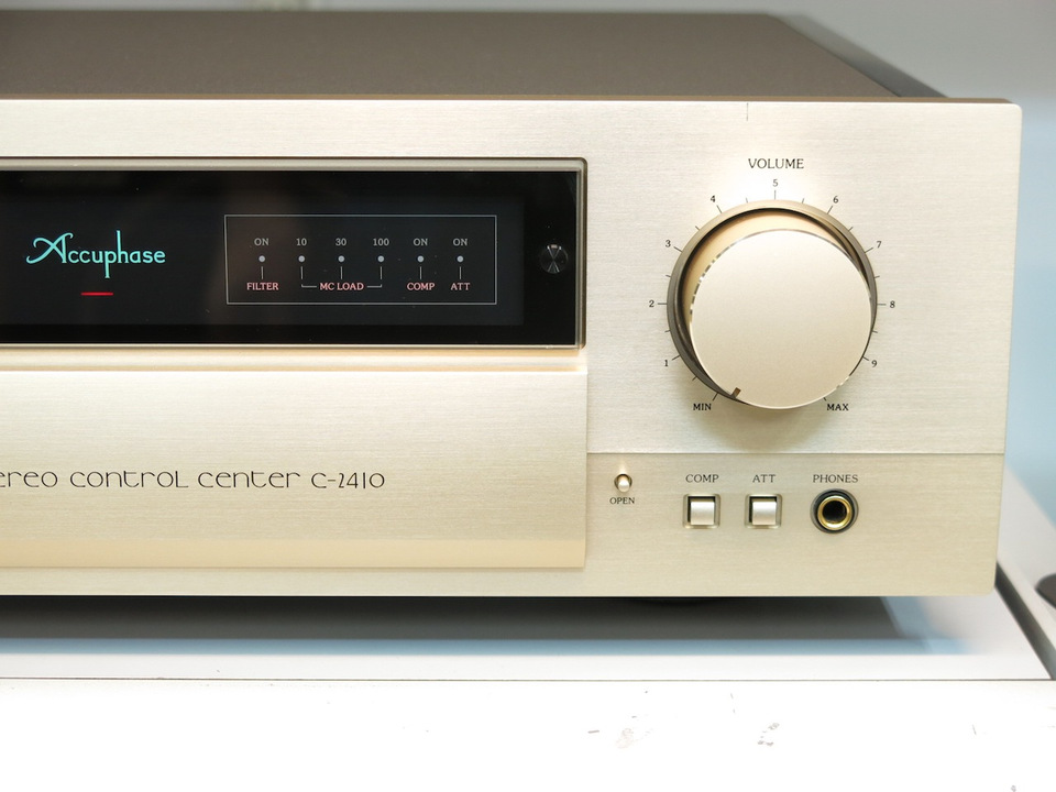 C-2410 Accuphase アキュフェーズ コントロールアンプ(トランジスター) 画像e