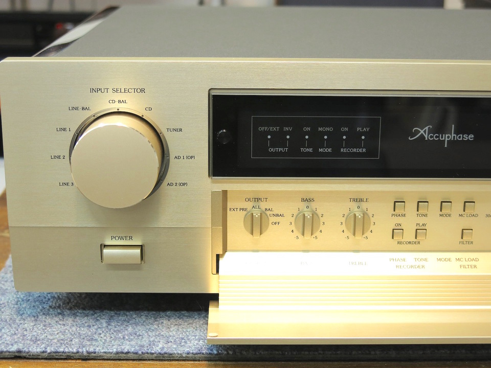 C-2410 Accuphase アキュフェーズ コントロールアンプ(トランジスター) 画像g