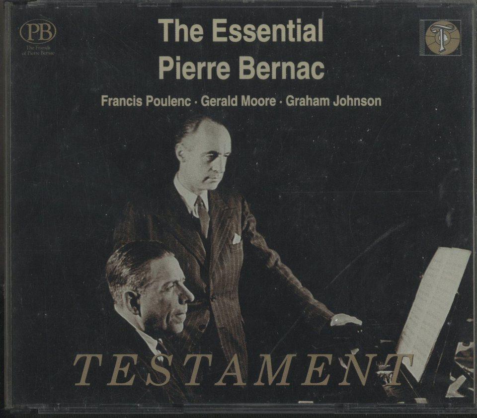 THE ESSENTIAL PIERRE BERNAC グ...