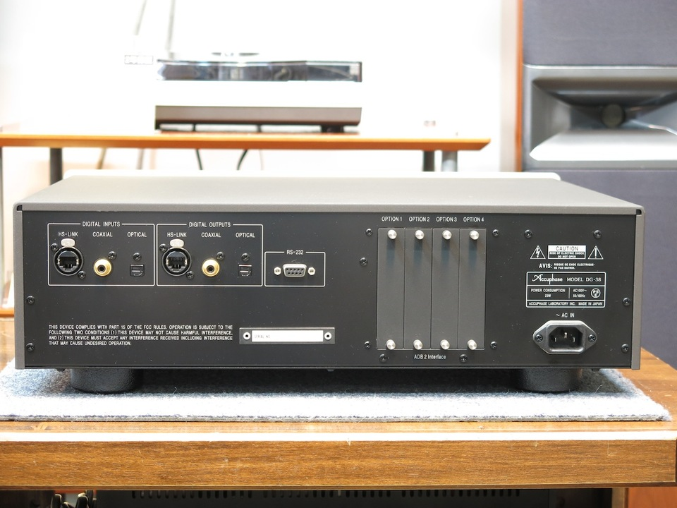DG-38 Accuphase アキュフェーズ その他オーディオ機器 画像f