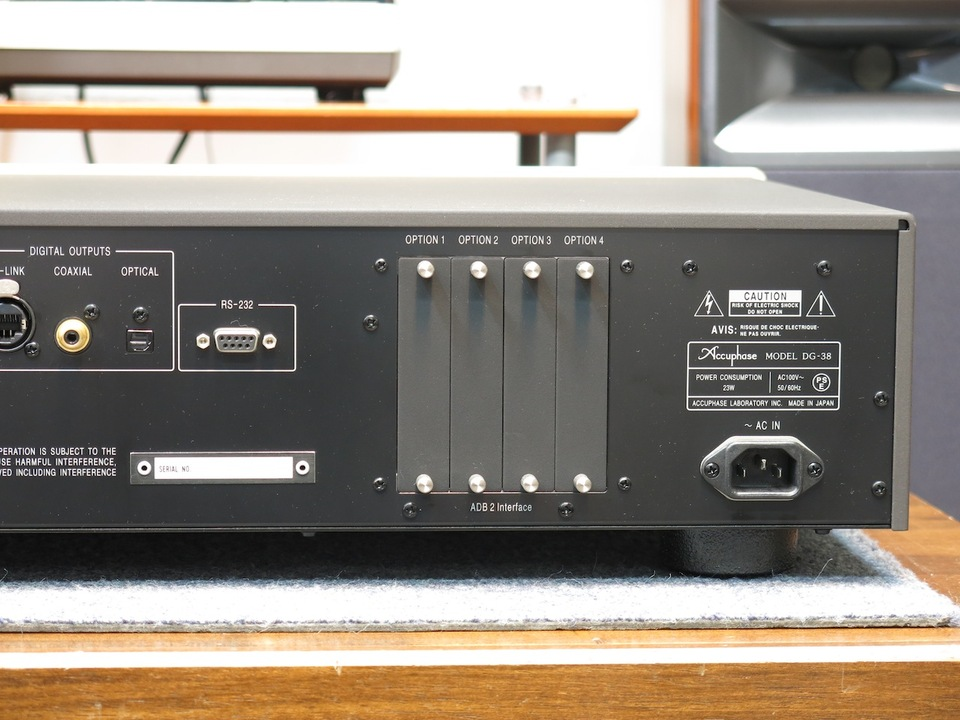 DG-38 Accuphase アキュフェーズ その他オーディオ機器 画像h