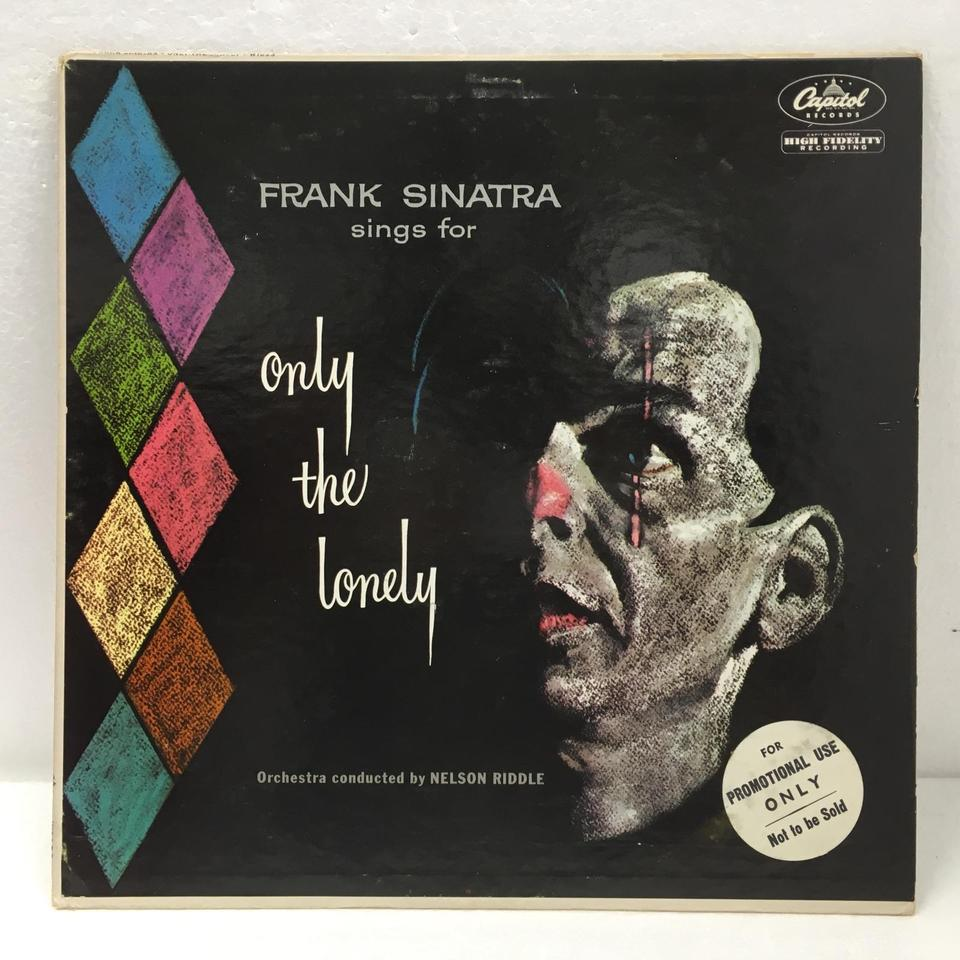ONLY THE LONELY/FRANK SINATRA FRANK SINATRA 画像