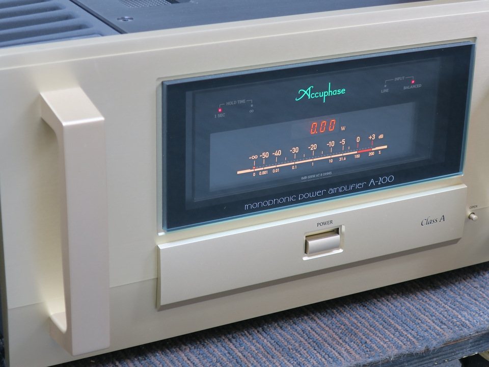 A-200 Accuphase アキュフェーズ パワーアンプ(トランジスター) 画像i