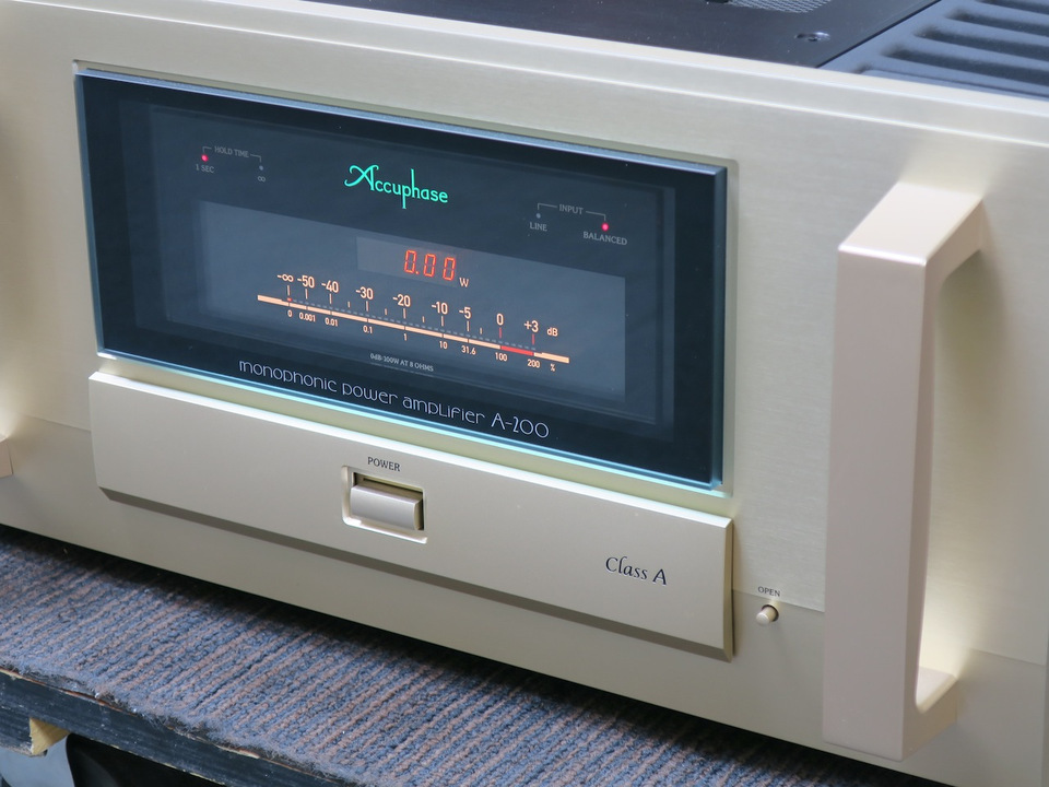 A-200 Accuphase アキュフェーズ パワーアンプ(トランジスター) 画像j