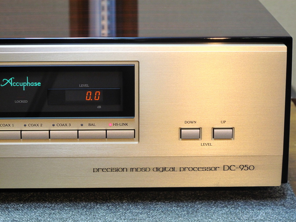 DC-950 Accuphase アキュフェーズ D/Aコンバータ 画像g