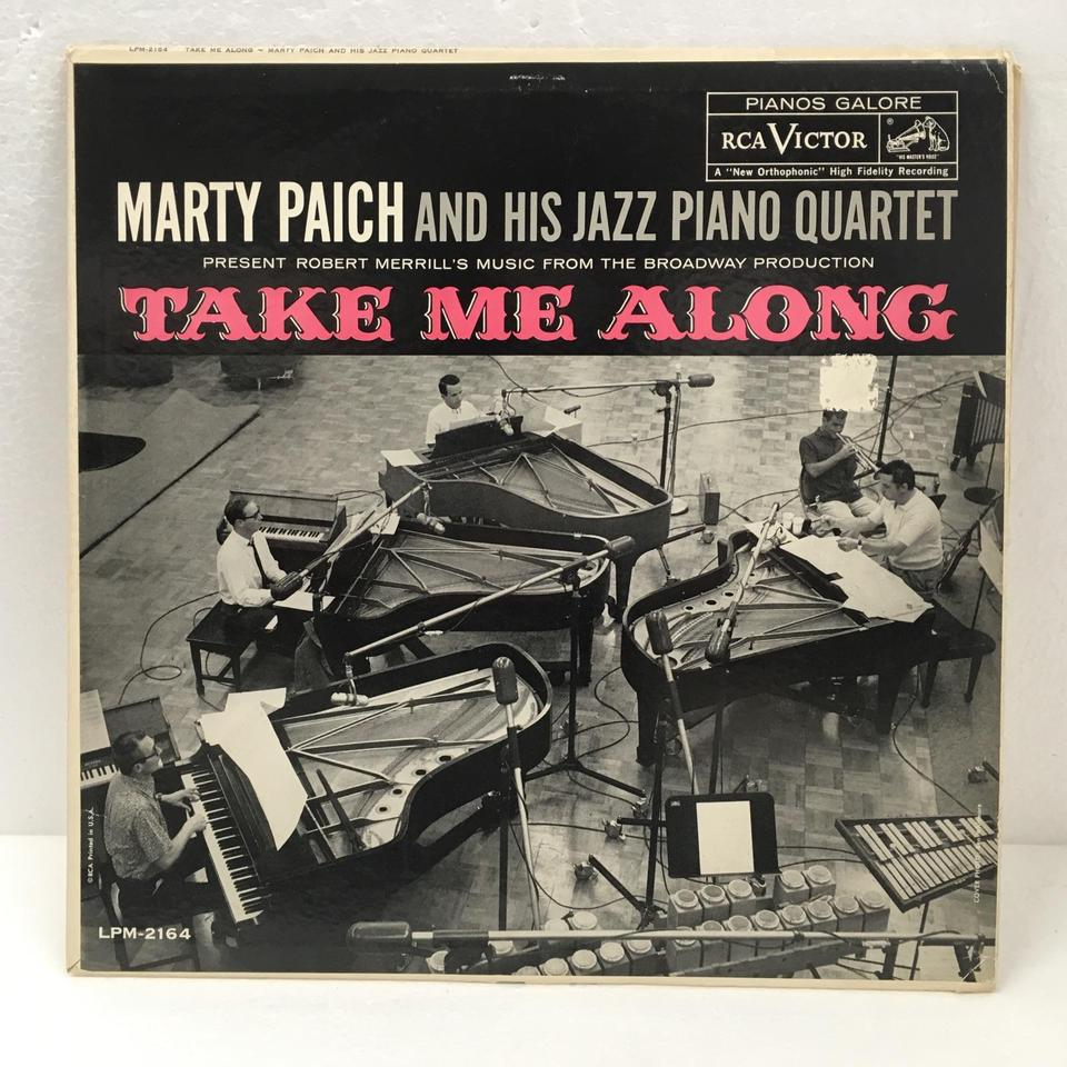 TAKE ME ALONG/MARTY PAICH MARTY PAICH  LPジャズ 画像a