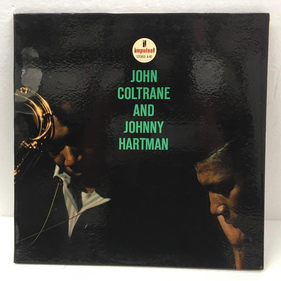 JOHN COLTRANE AND JOHNNY HARTMAN JOHN COLTRANE  LPジャズ 画像a