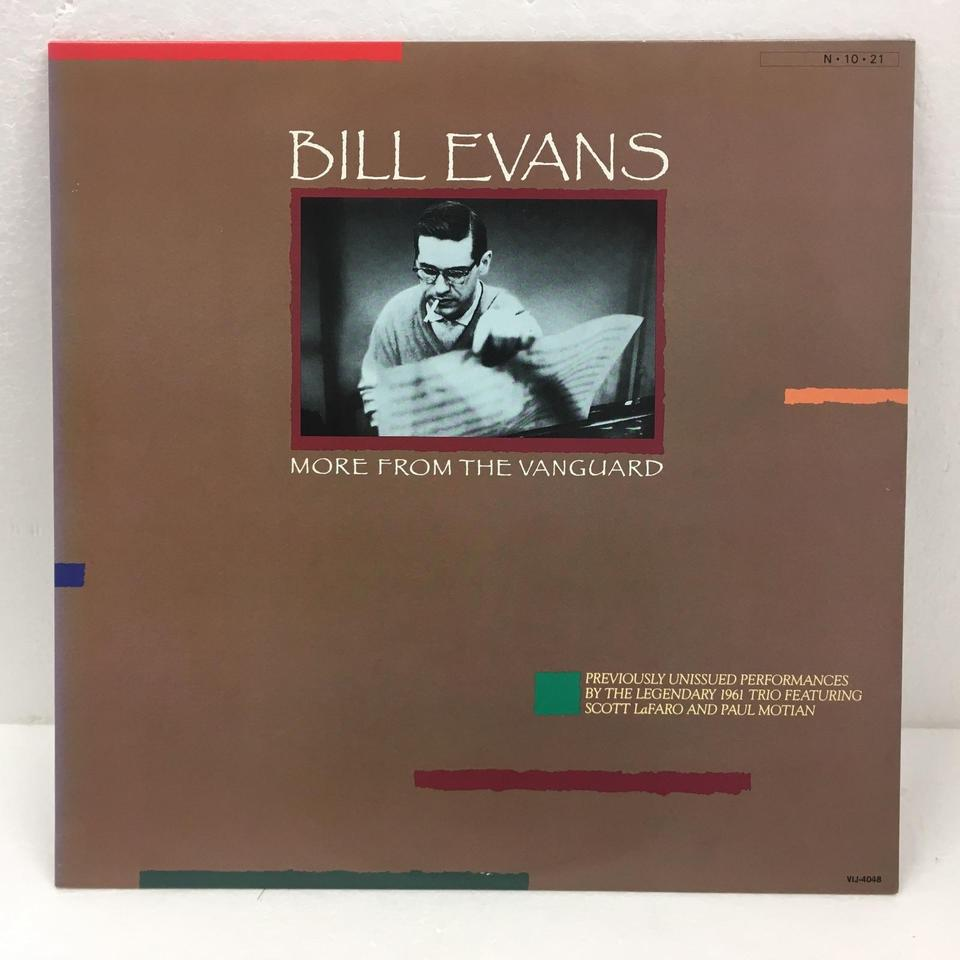 MORE FROM THE VANGUARD/BILL EVANS BILL EVANS 画像