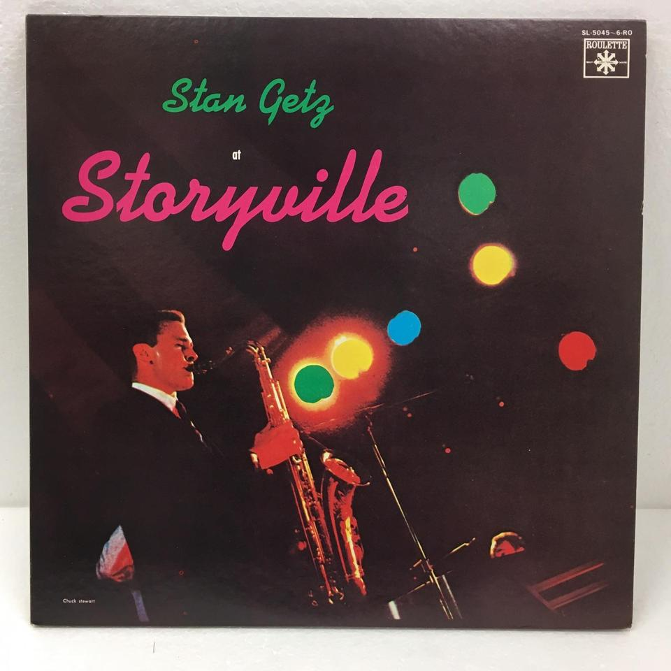 JAZZ AT STORYVILLE VOL.2/STAN GETS STAN GETS(ts)  LPジャズ 画像a