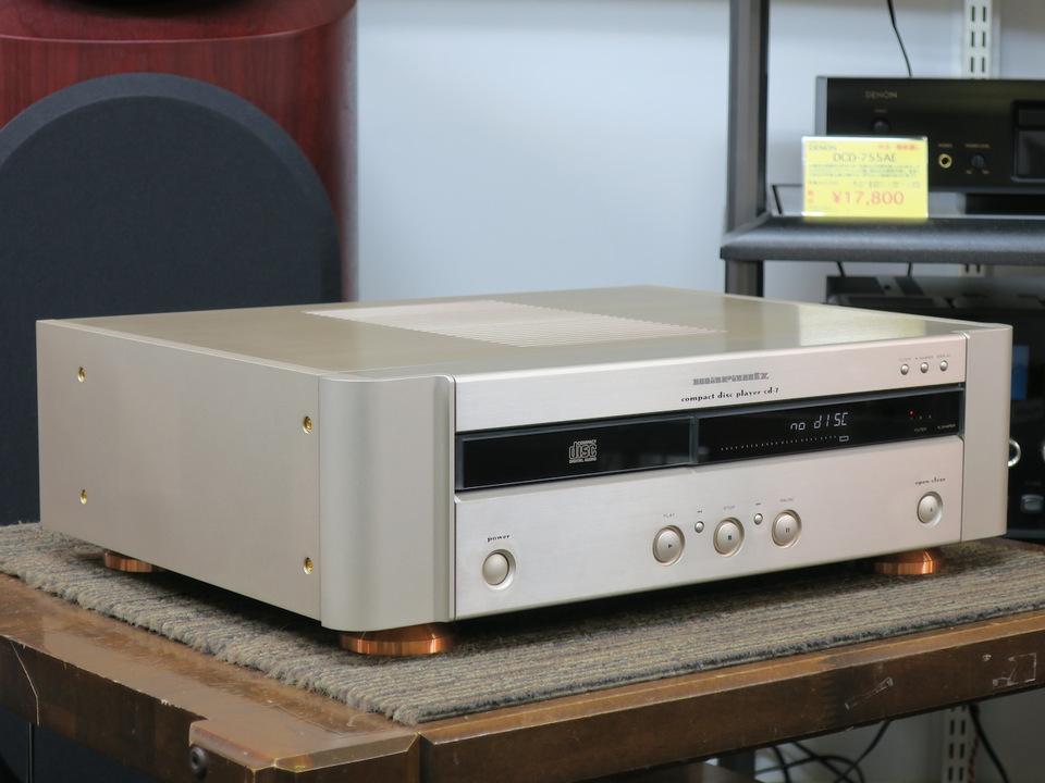 CD-7 marantz 画像