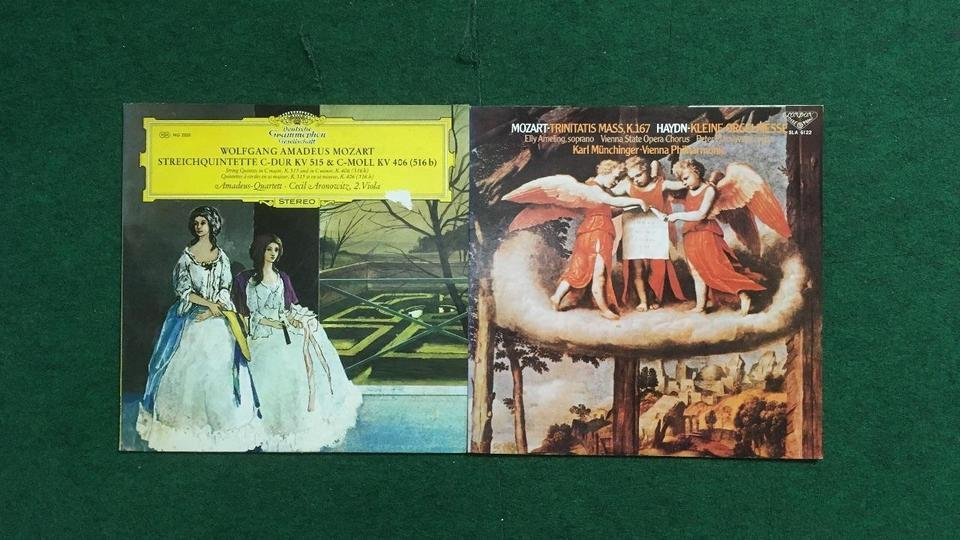 クラシック モーツァルト16枚セット  画像