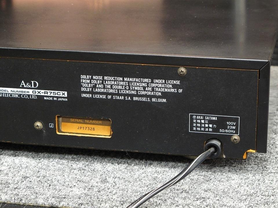 GX-R75CX A&D 画像