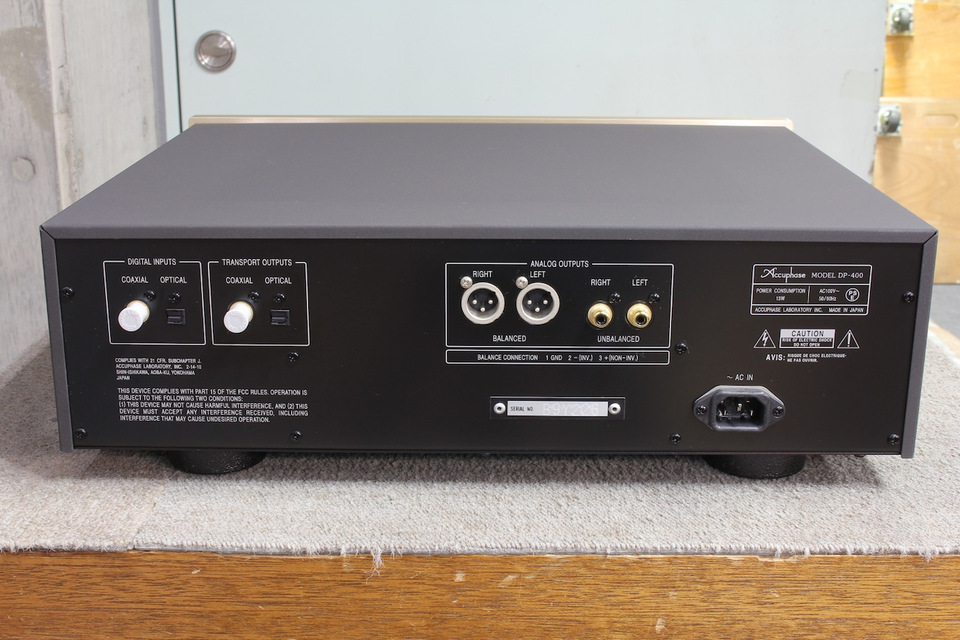DP-400 Accuphase 画像