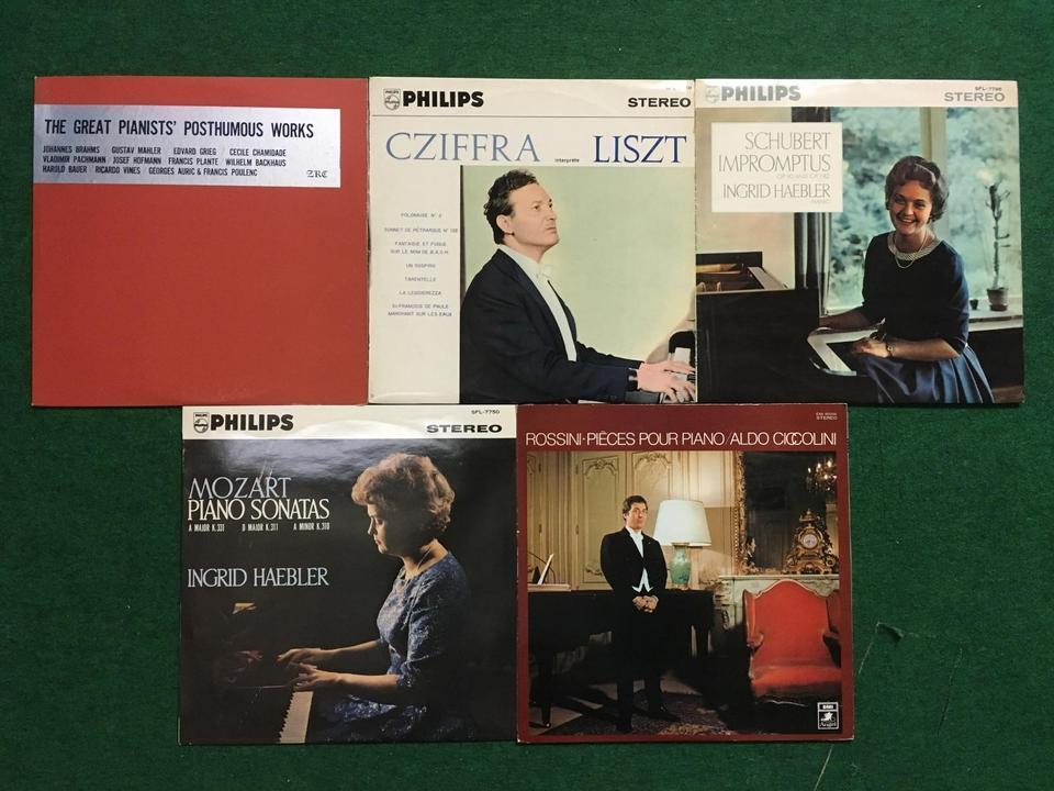 クラシック ピアノ20枚セット  画像
