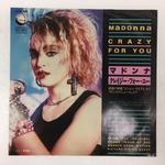 「CRAZY FOR YOU」MADONNA/「I'LL FALL IN LOVE AGAIN」SAMMY HAGAR