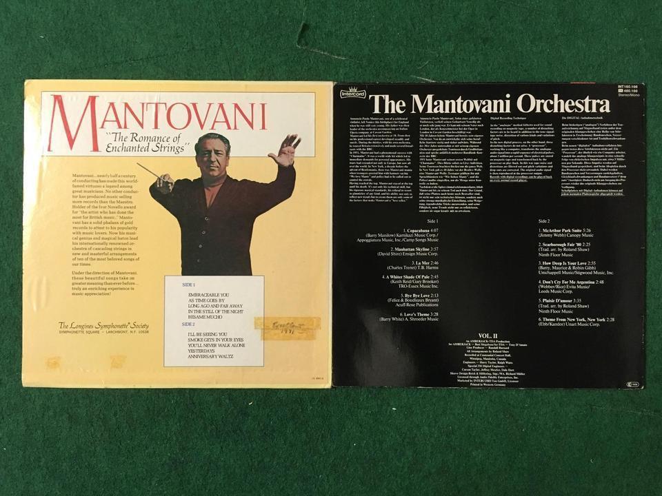 マントヴァーニ10枚セット  画像