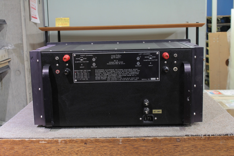 ML-9 Mark Levinson - HiFi-Do McIntosh/JBL/audio-technica