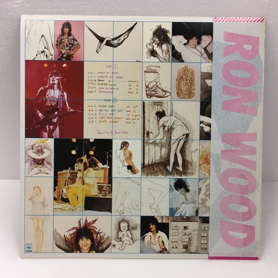 GIMME SOME NECK/RON WOOD RON WOOD 画像