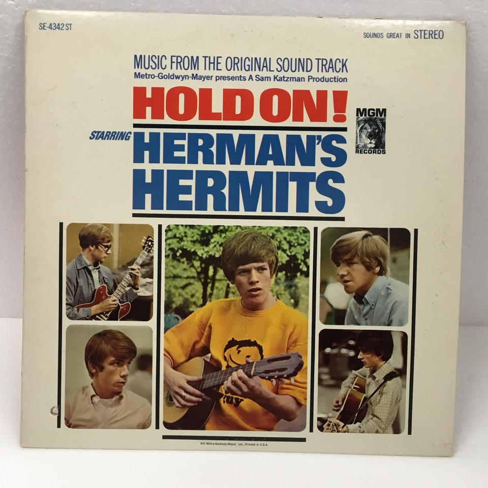 HOLD ON!/HERMAN'S HERMITS HERMAN'S HERMITS 画像