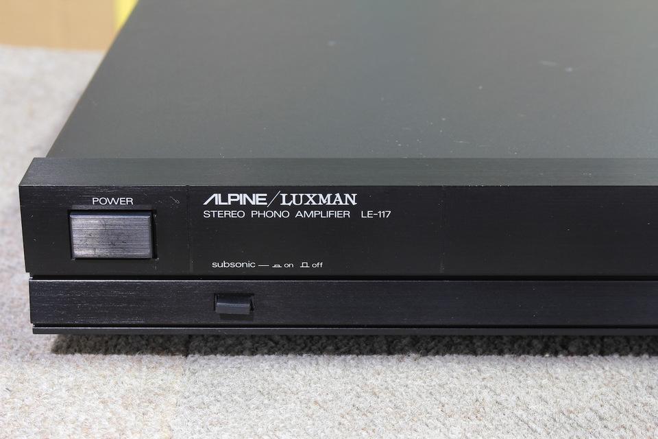 LE-117 ALPINE/LUXMAN 画像