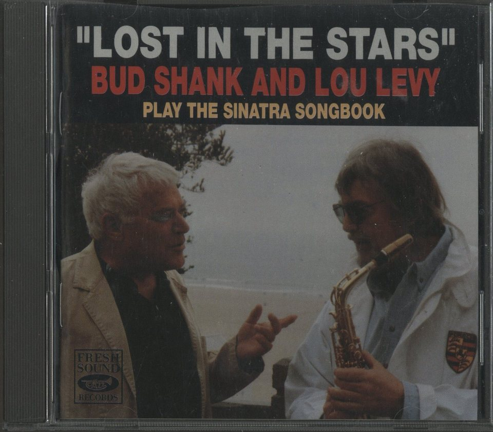 """LOST IN THE STARS"" BUD SHANK AND LOU LEVY PLAY THE SINATRA SONGBOOK BUD SHANK 画像"