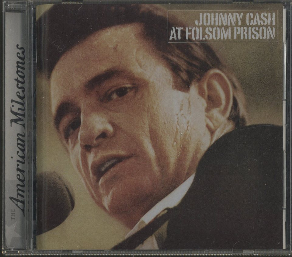 JOHNNY CASH AT FOLSOM PRISON JOHNNY CASH  CD洋楽 画像a