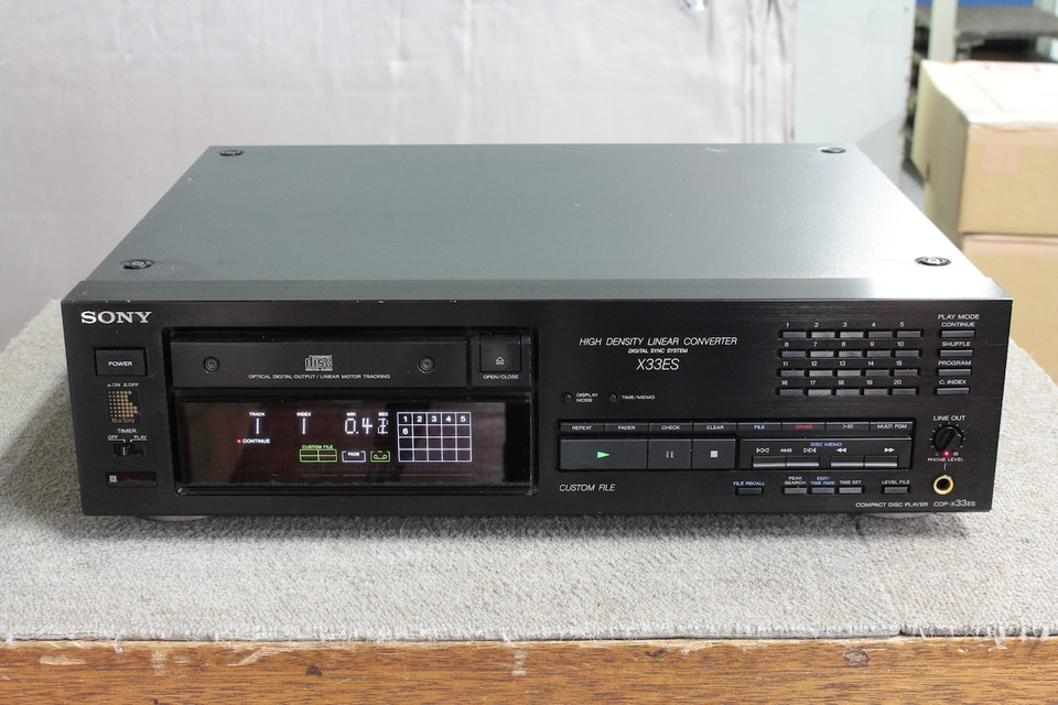 CDP-X33ES SONY ソニー CDプレーヤー 画像a