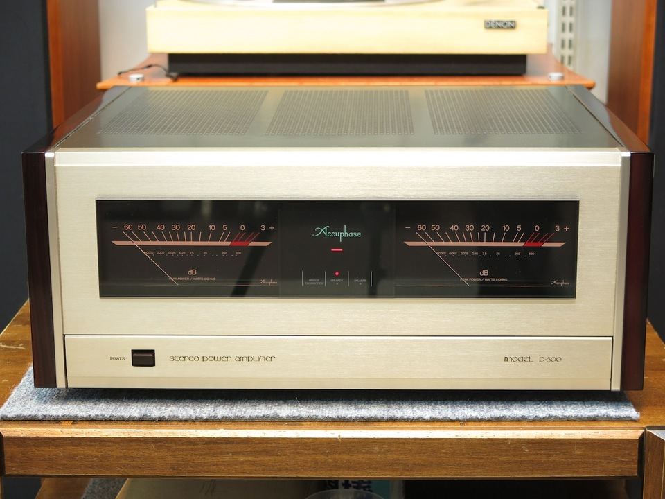 P-500 Accuphase アキュフェーズ パワーアンプ(トランジスター) 画像a