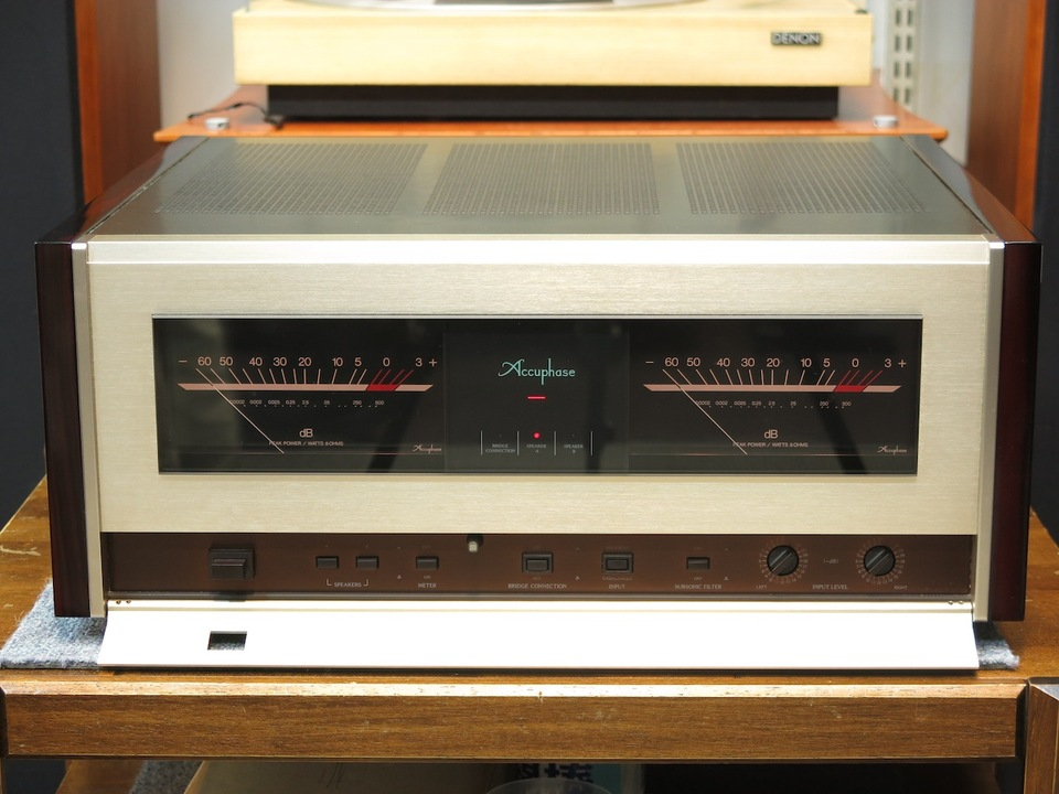 P-500 Accuphase アキュフェーズ パワーアンプ(トランジスター) 画像b