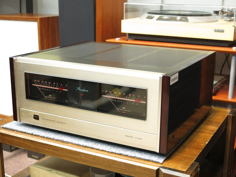 P-500 Accuphase アキュフェーズ パワーアンプ(トランジスター) 画像c