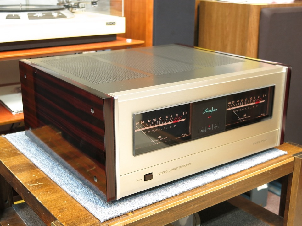 P-500 Accuphase アキュフェーズ パワーアンプ(トランジスター) 画像d