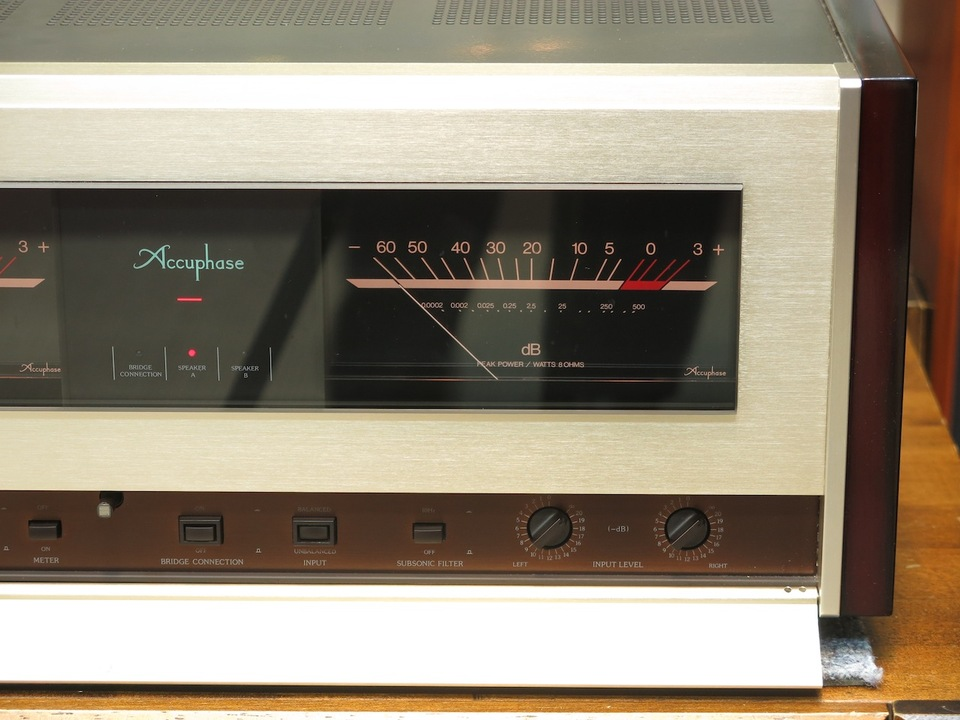 P-500 Accuphase アキュフェーズ パワーアンプ(トランジスター) 画像f