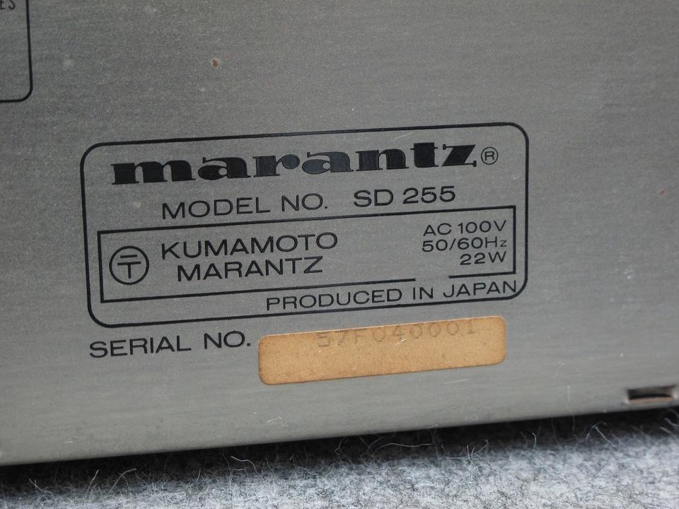 SD255 marantz 画像