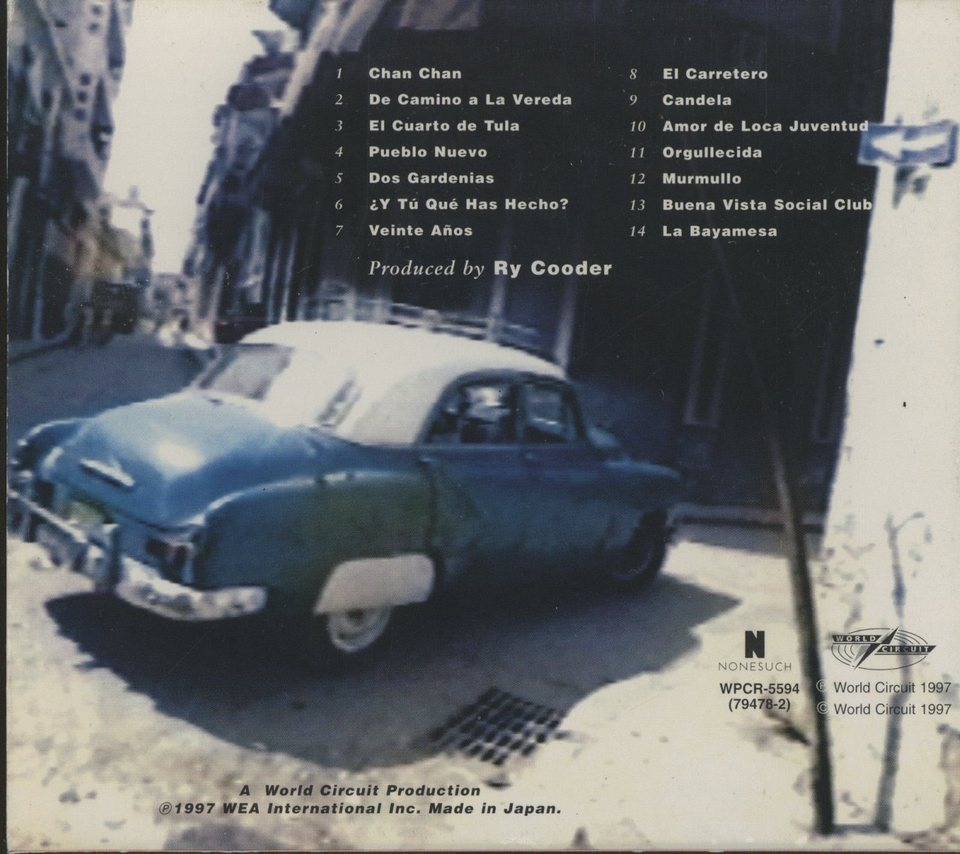 BUENA VIST SOCIAL CLUB   CD洋楽 画像b