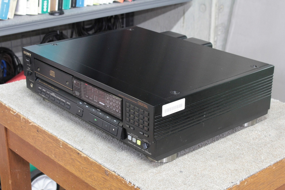 CDP-555ESD SONY ソニー CDプレーヤー 画像c