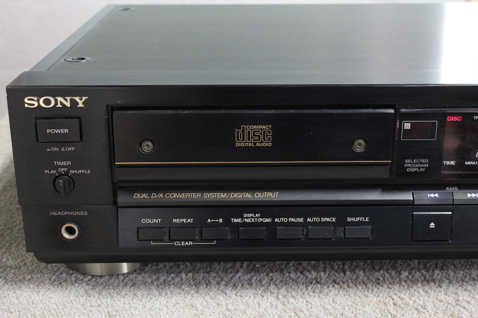 CDP-555ESD SONY ソニー CDプレーヤー 画像e