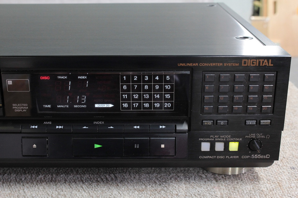 CDP-555ESD SONY ソニー CDプレーヤー 画像f