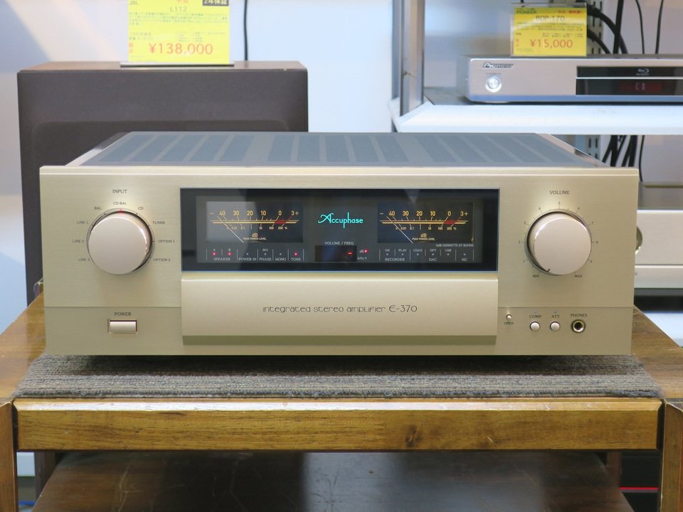 E-370 Accuphase 画像