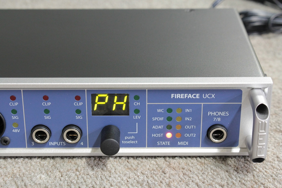 Fireface UCX RME アールエムイー D/Aコンバータ 画像e