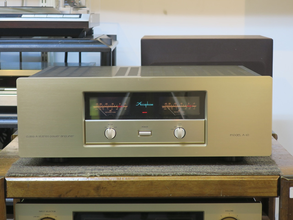 A-20 Accuphase アキュフェーズ パワーアンプ(トランジスター) 画像a