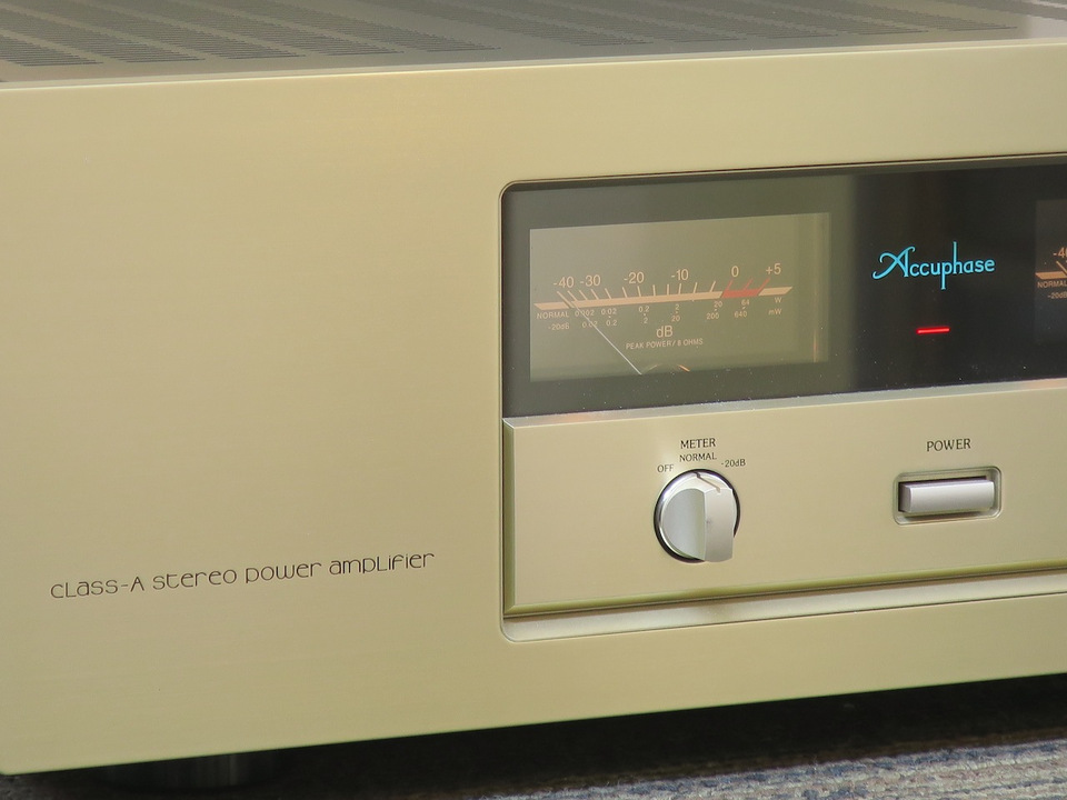 A-20 Accuphase アキュフェーズ パワーアンプ(トランジスター) 画像e
